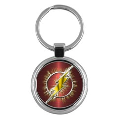Flash Flashy Logo Key Chains (Round)