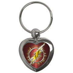 Flash Flashy Logo Key Chains (Heart)