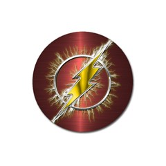 Flash Flashy Logo Magnet 3  (Round)