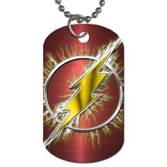 Flash Flashy Logo Dog Tag (One Side)