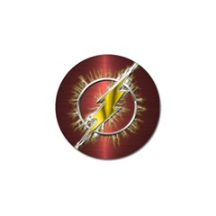 Flash Flashy Logo Golf Ball Marker