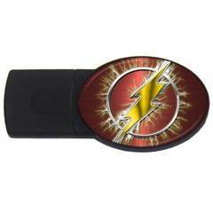 Flash Flashy Logo USB Flash Drive Oval (2 GB)