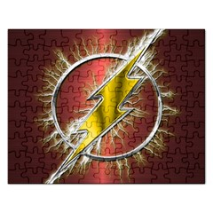 Flash Flashy Logo Rectangular Jigsaw Puzzl