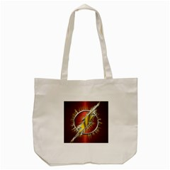 Flash Flashy Logo Tote Bag (cream)