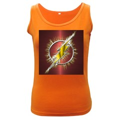 Flash Flashy Logo Women s Dark Tank Top