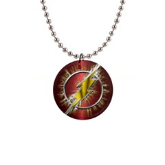 Flash Flashy Logo Button Necklaces