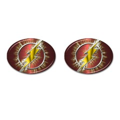 Flash Flashy Logo Cufflinks (Oval)