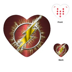 Flash Flashy Logo Playing Cards (Heart)