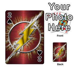 Flash Flashy Logo Playing Cards 54 Designs
