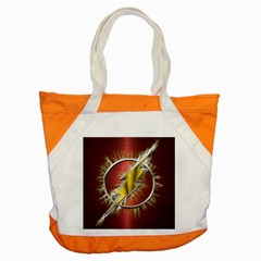 Flash Flashy Logo Accent Tote Bag