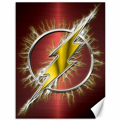 Flash Flashy Logo Canvas 12  X 16