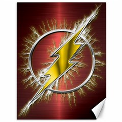 Flash Flashy Logo Canvas 36  X 48