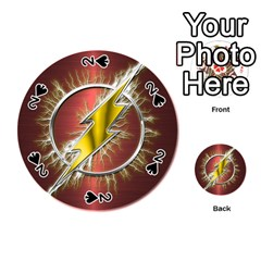 Flash Flashy Logo Playing Cards 54 (Round)