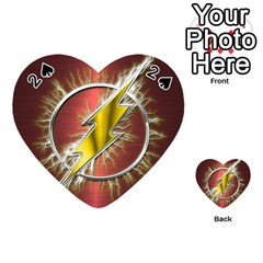 Flash Flashy Logo Playing Cards 54 (Heart)