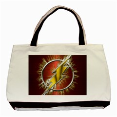 Flash Flashy Logo Basic Tote Bag (Two Sides)