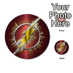 Flash Flashy Logo Multi-purpose Cards (Round)