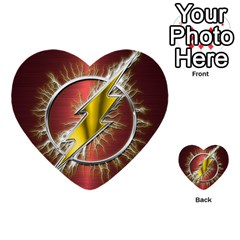 Flash Flashy Logo Multi Purpose Cards (heart)