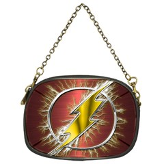 Flash Flashy Logo Chain Purses (One Side)