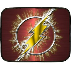 Flash Flashy Logo Double Sided Fleece Blanket (Mini)