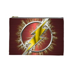 Flash Flashy Logo Cosmetic Bag (Large)