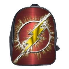 Flash Flashy Logo School Bags(Large)