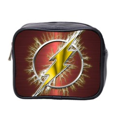 Flash Flashy Logo Mini Toiletries Bag 2 Side