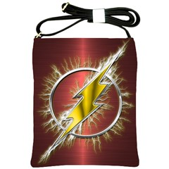 Flash Flashy Logo Shoulder Sling Bags