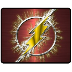 Flash Flashy Logo Fleece Blanket (Medium)
