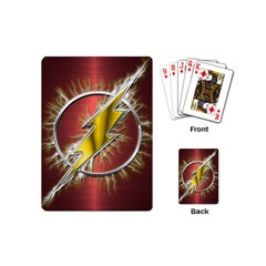 Flash Flashy Logo Playing Cards (Mini)