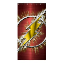 Flash Flashy Logo Shower Curtain 36  x 72  (Stall)