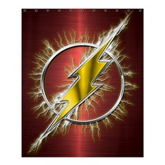 Flash Flashy Logo Shower Curtain 60  x 72  (Medium)