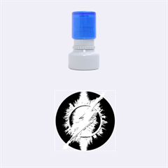 Flash Flashy Logo Rubber Round Stamps (Small)