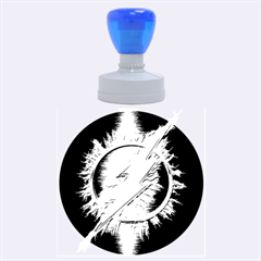Flash Flashy Logo Rubber Round Stamps (Large)