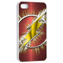 Flash Flashy Logo Apple iPhone 4/4s Seamless Case (White)