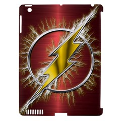 Flash Flashy Logo Apple iPad 3/4 Hardshell Case (Compatible with Smart Cover)