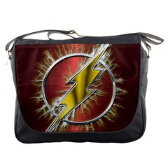 Flash Flashy Logo Messenger Bags