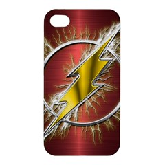 Flash Flashy Logo Apple Iphone 4/4s Premium Hardshell Case