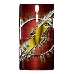 Flash Flashy Logo Sony Xperia S
