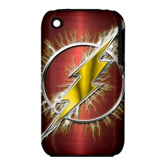 Flash Flashy Logo Apple iPhone 3G/3GS Hardshell Case (PC+Silicone)