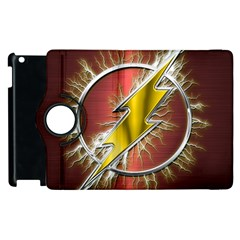 Flash Flashy Logo Apple Ipad 2 Flip 360 Case