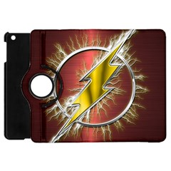 Flash Flashy Logo Apple iPad Mini Flip 360 Case