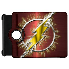 Flash Flashy Logo Kindle Fire HD Flip 360 Case