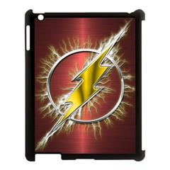 Flash Flashy Logo Apple iPad 3/4 Case (Black)