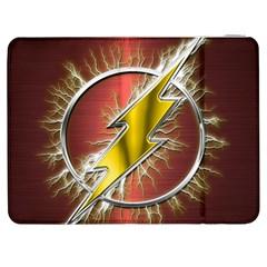 Flash Flashy Logo Samsung Galaxy Tab 7  P1000 Flip Case