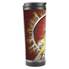 Flash Flashy Logo Travel Tumbler