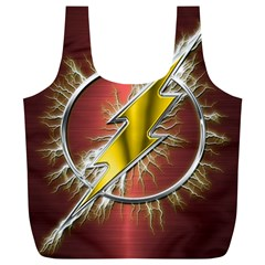 Flash Flashy Logo Full Print Recycle Bags (L)