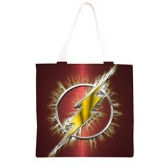 Flash Flashy Logo Grocery Light Tote Bag