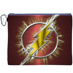 Flash Flashy Logo Canvas Cosmetic Bag (xxxl)