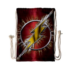 Flash Flashy Logo Drawstring Bag (Small)