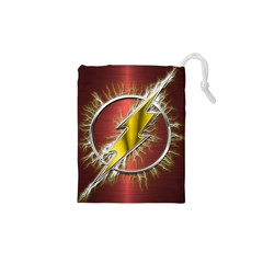 Flash Flashy Logo Drawstring Pouches (XS)